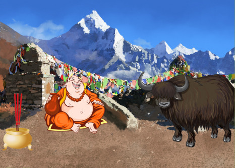 Head to Nepal with your companions!